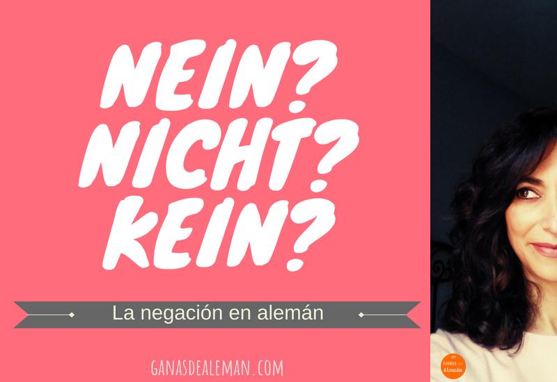 La negación en alemán